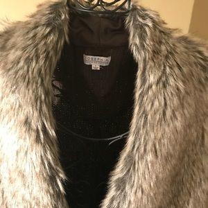 Faux Fur Vest by Joseph A